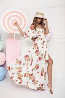 Платье женское цветок