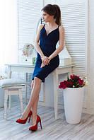 Платье женское замш