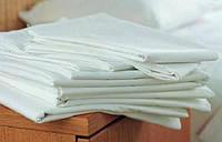 Постельное белье бязь отбеленая (белое 1,5) полуторный комплект