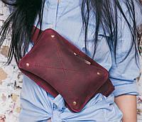 Напоясная стильная сумка BlankNote DropBag BN-BAG-6-vin виноград