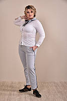 Женский оригинальный спортивный костюм больших размеров (рр 42-74)