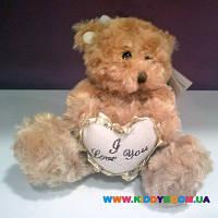 Мягкая игрушка Медвежонок с сердечком Devik Toys 043157/8