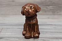 """Шоколадная фигура """" Собачка"""". Подарок для жены. Презент от мужа жене."""
