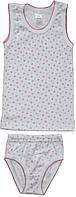 Комплект нижнего белья для девочки, рост 98/104 см, Фламинго