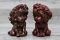 Шоколадная фигура Ангел. Подарочный сувенирный ангелочек для жены.