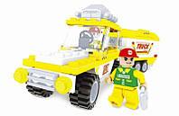 Конструктор аналог LEGO Автомобиль с прицепом 137 деталей