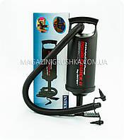Воздушный насос для матрасов и кроватей Intex (большой, 2 насадки)