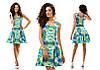 Женское стильно платье в двух расцветках