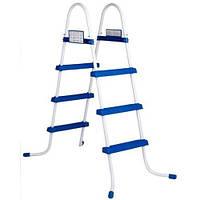 Лестница для бассейнов INTEX высот. от 76 до 122 см.