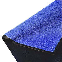 Нейлоновый грязезащитный коврик. 60*90 синий.
