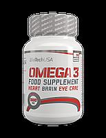 Витамины и минералы BioTech Omega 3  (90 caрs)