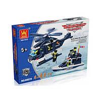 """Конструктор """"Полицейский вертолет"""" Brick 040217"""