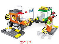 Конструктор аналог LEGO Заправочная станция 196 деталей