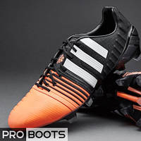 Футбольные бутсы Adidas Nitrocharge 1.0 FG Orange Black
