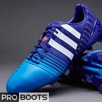 Футбольные бутсы Adidas Nitrocharge 1.0 FG Blue