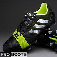 Футбольные бутсы Adidas Nitrocharge 1.0 TRX FG Black