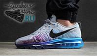 Кроссовки мужские Nike Air Max Flyknit 2014 Wolf Grey
