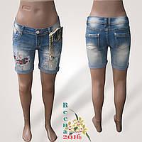 Шорты женские джинсовые с принтами Yes Pink