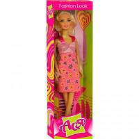 Кукла ToysLab Модный стиль блондинка Ася в розовом сарафане 28 см (35044)