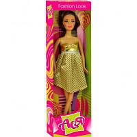 Кукла ToysLab Модный стиль брюнетка Ася в золотистом платье 28 см (35047)