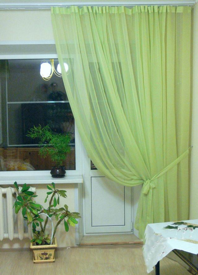 Фотографии штор салатовых