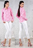 Женские летние белые брюки 42-46