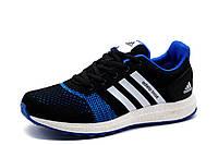 Кроссовки Adidas Adistar Boost, унисекс, текстиль, черные, р. 41, фото 1