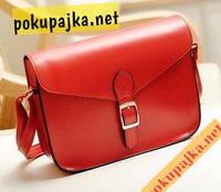 Шикарный модный женский клатч - сумка 6 цветов цвет красный В наличии!