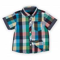 Рубашка для мальчика с коротким рукавом Minoti