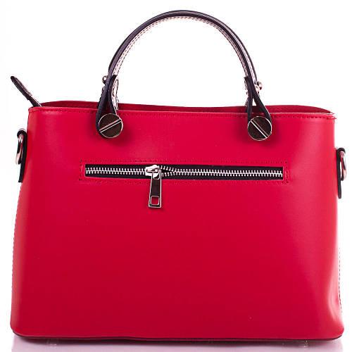 Красная женская кожаная сумка ETERNO, IBP1002