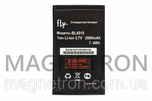Аккумуляторная батарея BL4015 Li-ion к мобильному телефону Fly 2000mAh, фото 2