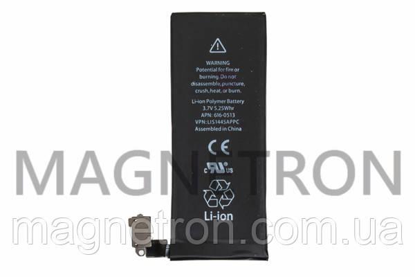 Аккумуляторная батарея 616-0513 Li-ion 1420mAh к телефону Apple Iphone 4 616-0513, фото 2