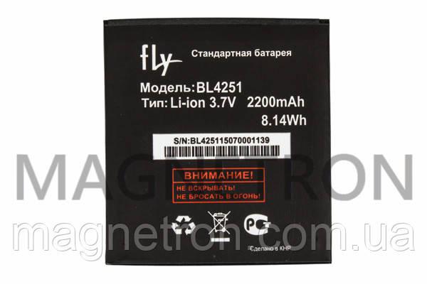 Аккумуляторная батарея BL4251 Li-ion для мобильных телефонов Fly 2200mAh, фото 2
