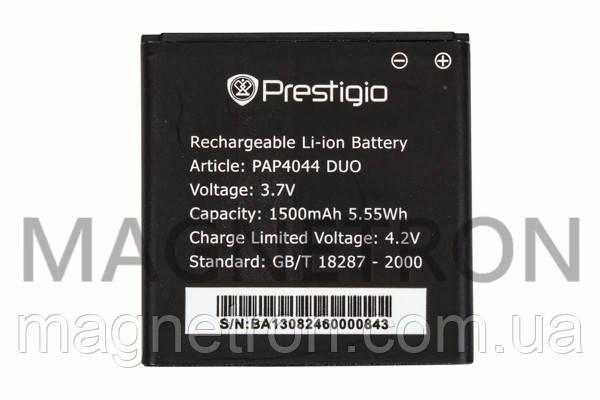 Аккумуляторная батарея PAP4044 Li-ion к мобильному телефону Prestigio 1500mAh, фото 2
