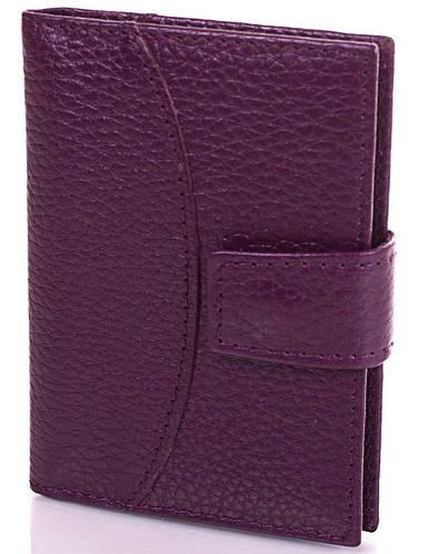 Бордовая женская кожаная визитница Canpellini, SHI050-7FL