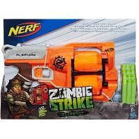 Игрушечное оружие Hasbro Nerf Бластер Зомби Страйк Переворот (A9603)