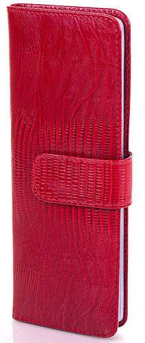 Красная женская кожаная визитница Canpellini, SHI124-1LZ