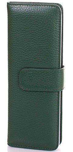 Зеленая женская кожаная визитница Canpellini, SHI124-4FL