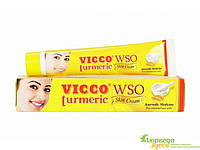 Крем для лица с куркумой Vicco Turmeric WSO, Аюрведа Здесь!