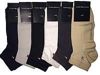 Носки мужские короткие сетка спорт Tommy