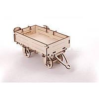 Механический 3D пазл UGEARS Прицеп для трактора