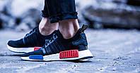 Кроссовки Мужские Adidas NMD  Originals Boost Runner Primeknit Core Black