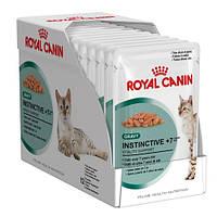 Royal Canin Instinctive +7 (Инстинктив +7), 24х85 гр