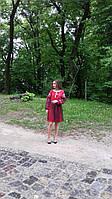 """Праздничное вышитое платье """"с фатином"""