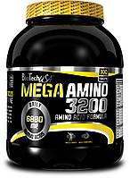 BioTech Mega Amino 3200 300 tablets. Биотеч аминокислоты