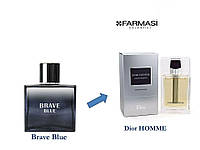 Мужская туалетная вода BRAVE BLUE EDT Аналог аромата Dior HOMME от Dior