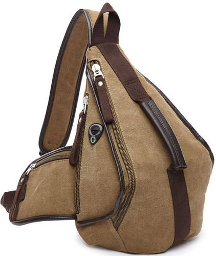 Рюкзак из плотного холста 8л. Traum 7020-31, бежевый
