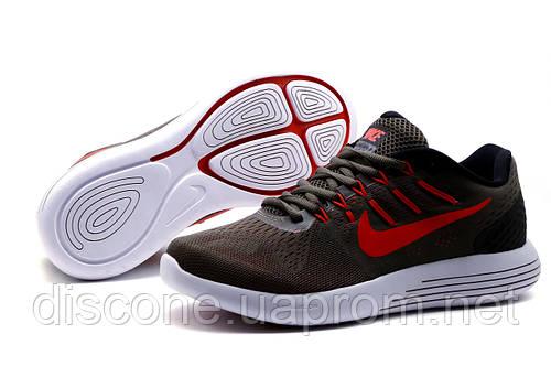 Кроссовки Nike Lunarglide 8, мужские, темно-серые, р. 41 42