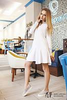 Платье-рубашка с юбочкой TM B&H  Материал : хлопок Цвет: белый Размер : ХS-M.AA 040