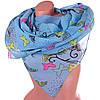 Очаровательный женский шифоновый шарф 174 на 75 см SOFTEL (СОФТЕЛ) SAT17810